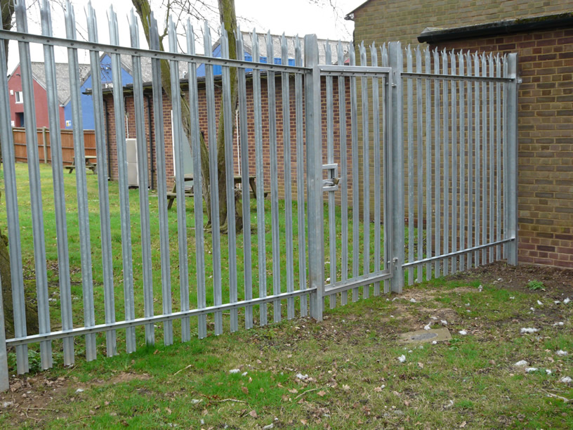 Types of security fencing pictures to pin on pinterest